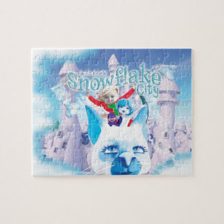 Snowflake City Jigsaw Puzzle (110 pieces)