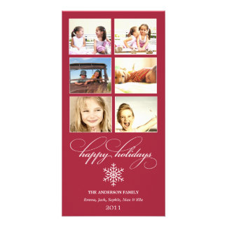 SNOWFLAKE COLLAGE | HOLIDAY PHOTO CARD