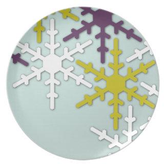 Snowflake Cookie Plate