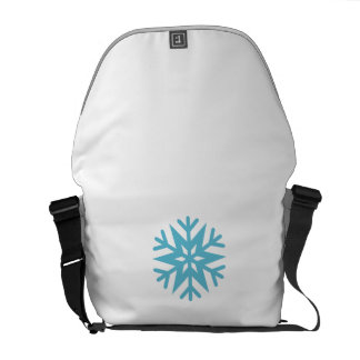 Snowflake Courier Bag