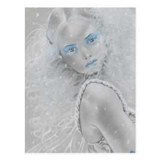 Snowflake Fairy Postcard