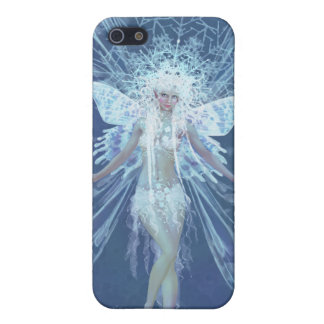 Snowflake fairy queen cover for iPhone 5/5S