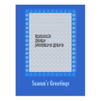 Snowflake Frame Postcard