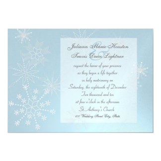Snowflake Gems/ Wedding Card