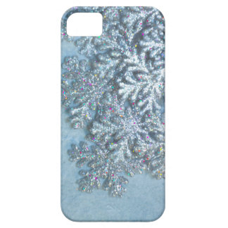 Snowflake Glitter iPhone Christmas cover