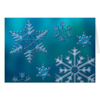 Snowflake H Card