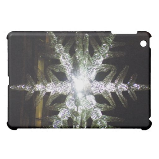 Snowflake Holiday iPad Mini Case
