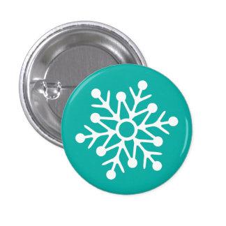 Snowflake illustration pin