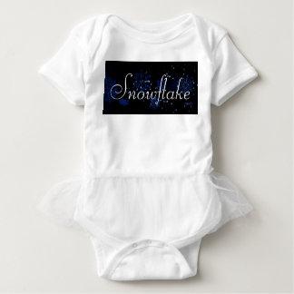 Snowflake Infant Tutu Bodysuit