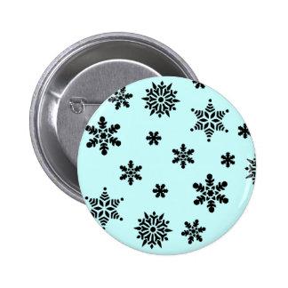 Snowflake Invasion Pattern Button