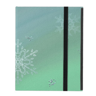 Snowflake iPad Case