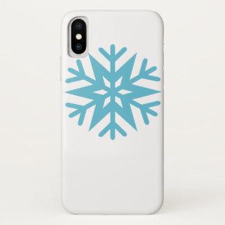 Snowflake iPhone X Case