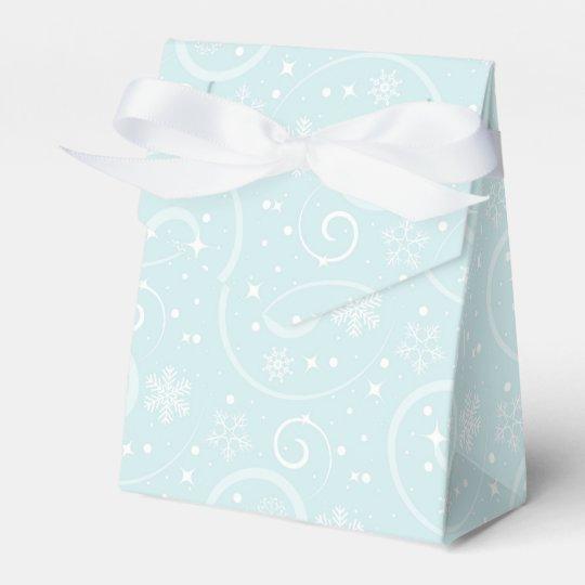 Snowflake Joy Party Favour Boxes