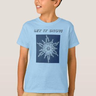 SnowFlake, LET IT SNOW T-Shirt