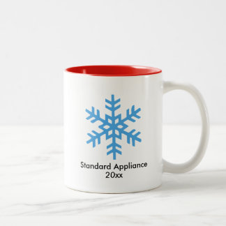 Snowflake Mug with Date | Corporate Gift
