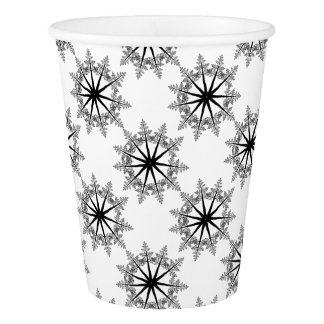 Snowflake of Trees Paper Cup