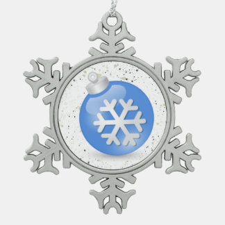 Snowflake Ornament White Christmas Collection