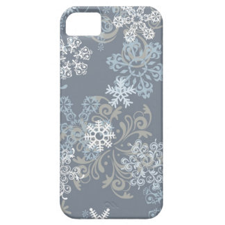 Snowflake Pattern Barely There iPhone 5 Case