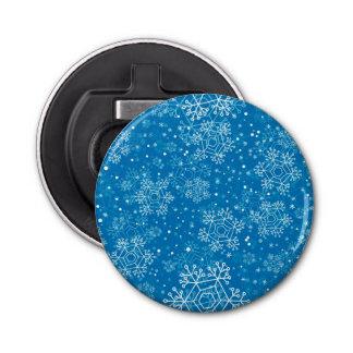 Snowflake pattern bottle opener
