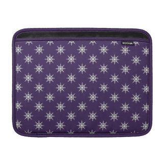 "Snowflake pattern custom 13"" MacBook sleeve"