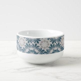 Snowflake patterned bowl