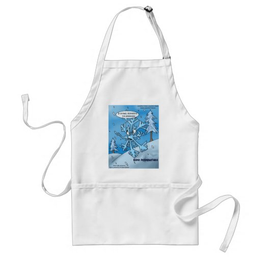 Snowflake Philosophers Funny Gifts Tees Cards Etc Apron