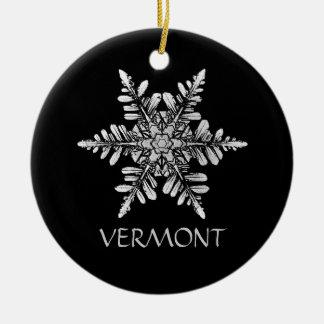 Snowflake Photo Ornament to Customize