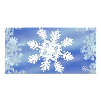 Snowflake Picture Card