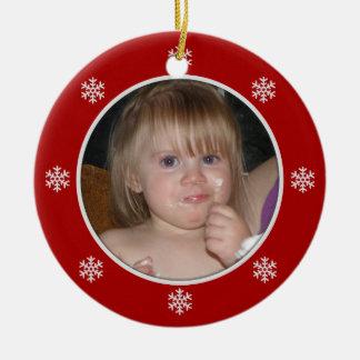 Snowflake: Picture Ornament