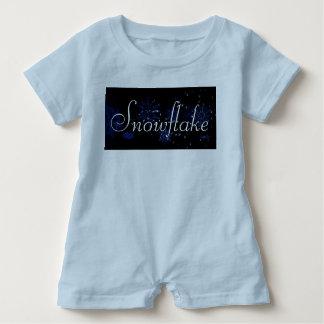 Snowflake Romper Baby Bodysuit