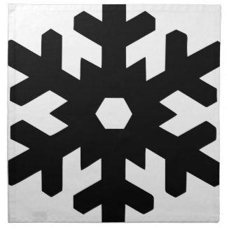 Snowflake Silhouette Napkin
