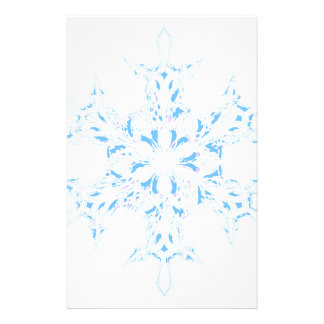 Snowflake Stationery