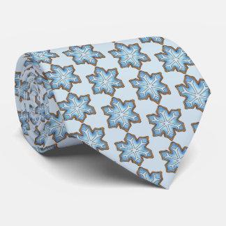 Snowflake Sugar Cookie Winter Hanukkah Christmas Tie