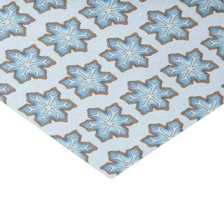 Snowflake Sugar Cookie Winter Hanukkah Christmas Tissue Paper