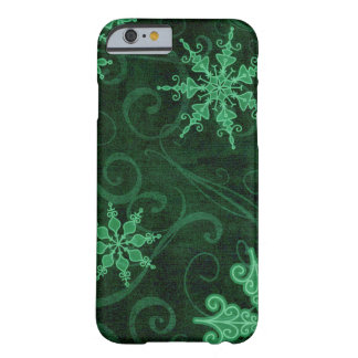 Snowflake Swirls Barely There iPhone 6 Case