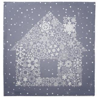 Snowflake the house napkin
