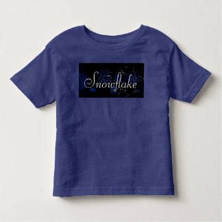 Snowflake Toddler Tee Shirt