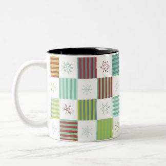 Snowflake Weave Mug