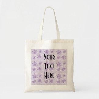 Snowflakes 1 - Purple Bags