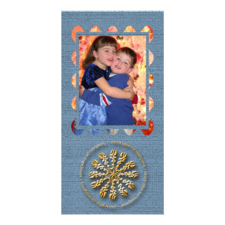 Snowflakes are Angel Kisses Personalized Photo Card