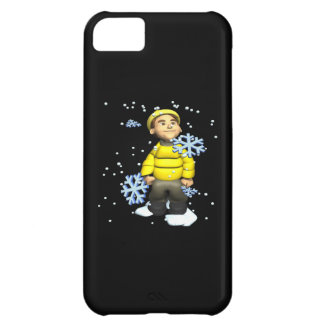 Snowflakes Boy Case For iPhone 5C