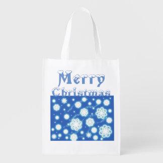 Snowflakes Christmas Gift Bag