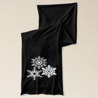 Snowflakes Christmas scarf Christmas gift