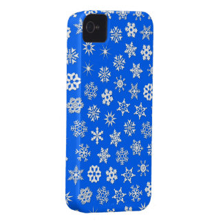 Snowflakes Collage iPhone 4 Covers