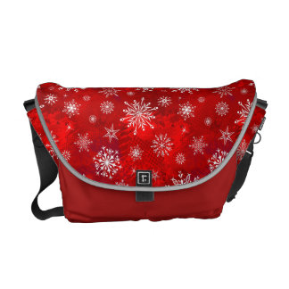 Snowflakes Courier Bags