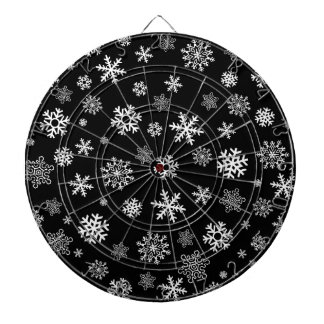 Snowflakes - customize with your favorite color dartboard