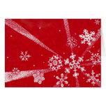 Snowflakes Holiday Card