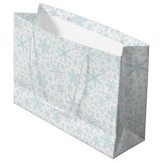 Snowflakes   Holiday Gift Bag