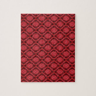 Snowflakes in Red... Jigsaw Puzzle