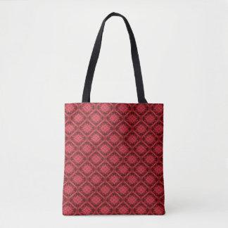 Snowflakes in Red... Tote Bag